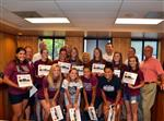 Lady Maroons Softball Team receives Game Changer Award